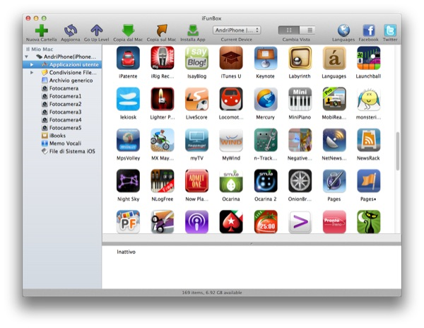 memo vocali iphone su mac