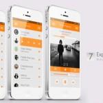 music ios 7 concept design