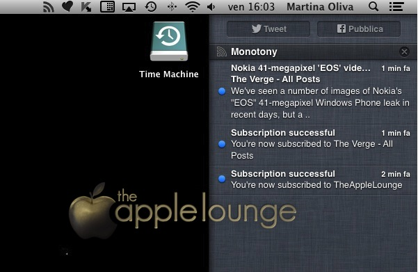 lettore feed rss mac