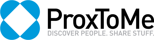 ProxToMe, Discover People, Share Stuff (Logo) - TheAppleLounge.com