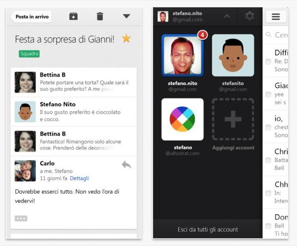 Gmail per iPhone
