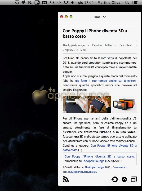 Favoriteer la recensione the apple lounge - Er finestra mac ...