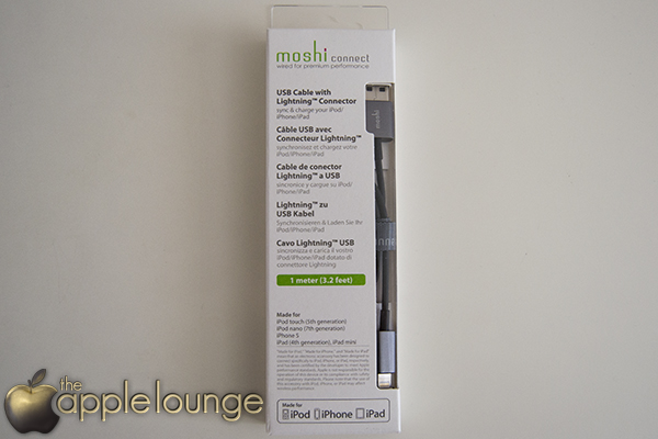 moshi USB cable with Lightning Connector (scatola) - TheAppleLounge.com