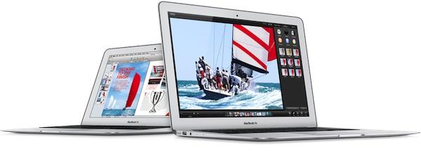 Nuovi MacBook Air prestazioni