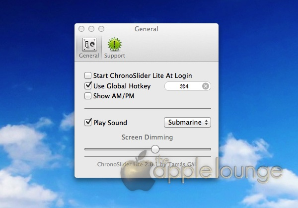 App timer Mac