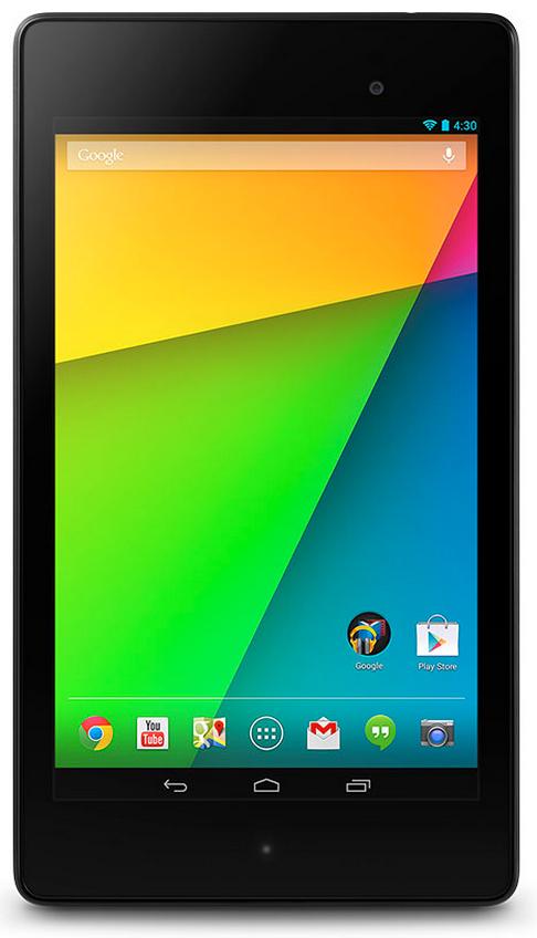 Nexus 7 seconda generazione front