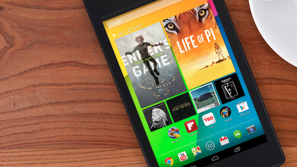 Nexus 7 seconda generazione hero