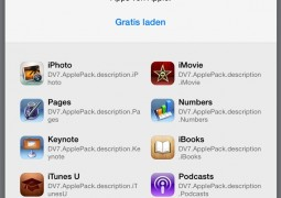 app gratuite Apple iOS 7 tedesco