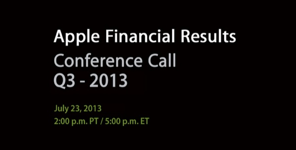 conference q3 13