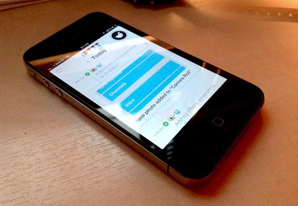 ifttt iphone