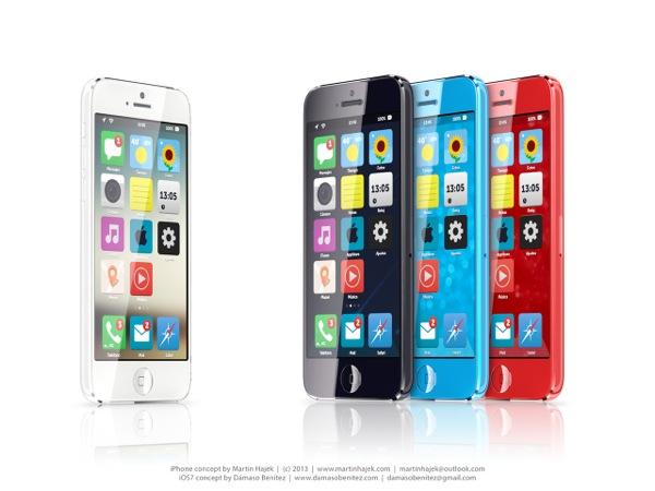 L'iPhone economico in un mockup di Martin Hajek