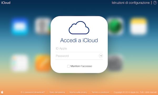 Find my iPhone guida accesso iCloud
