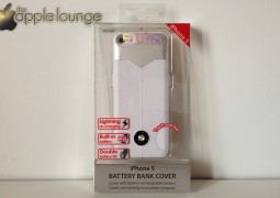 iPhone 5 Battery Bank Cover by Puro, immagine frontale confezione - TheAppleLounge.com