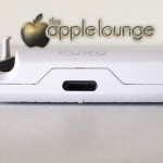 iPhone 5 Battery Bank Cover by Puro, particolare della porta Lightning - TheAppleLounge.com