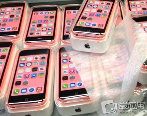 iphone 5 C rosa