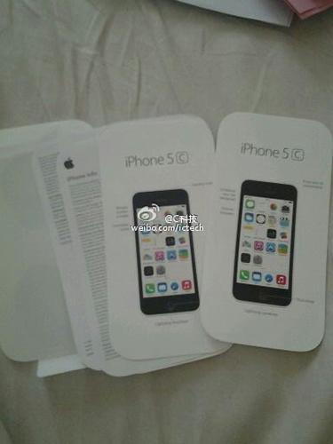iphone 5C manuali