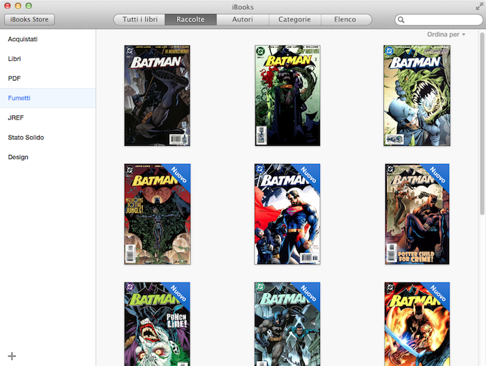 iBooks Mavericks