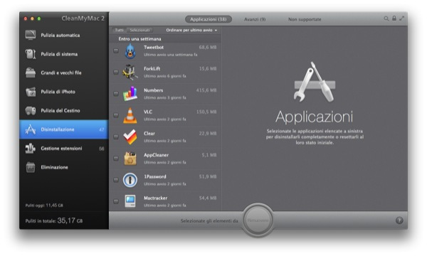 CleanMyMac 2 Mac recensione TheAppleLounge_3
