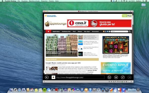 Parallels Desktop Mac 9 recensione TheAppleLounge_4