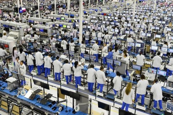 Moto X smartphone factory