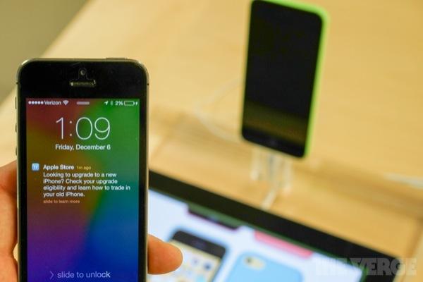iBeacon iPhone 5c
