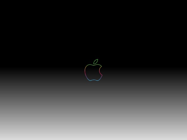3 anniversary-apple-logo-dark-gradient-wallpaper