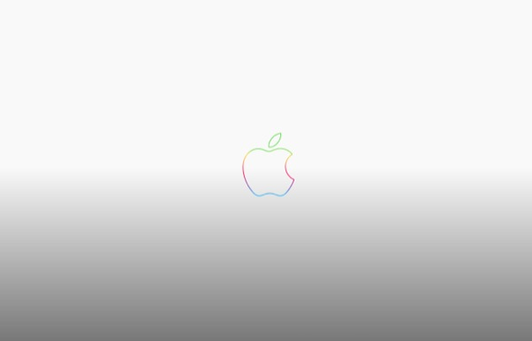 4 rainbow-apple-logo-anniversary-grey-wallpaper