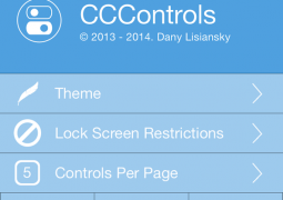 CCControls ios 7 cydia
