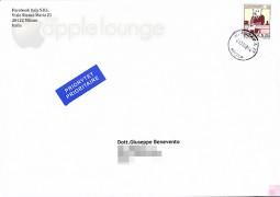 Ecco cosa ha risposto facebook (busta lettera) - TheAppleLounge.com