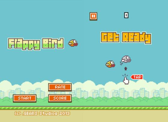flappy bird rimozione