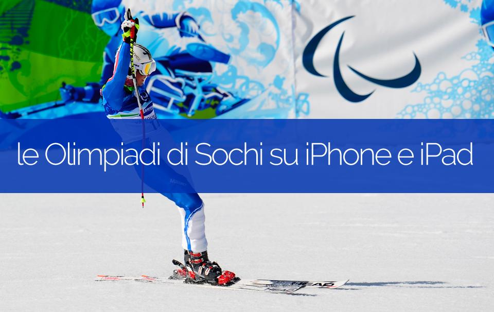 olimpiadi sochi 2014 iphone ipad