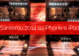 sanremo 2014 su iphone e ipad