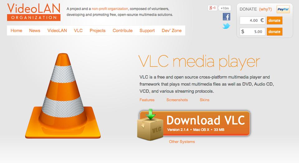 Installare_app_sito_VLC