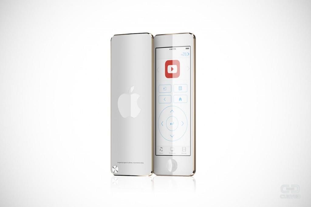 apple tv telecomando concept