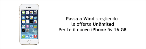 Le offerte di Wind per iPhone 5