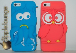 Cover Happy Cartoon per iPhone 5:5c:5s by Puro - la recensione di TAL 04 - TheAppleLounge.com