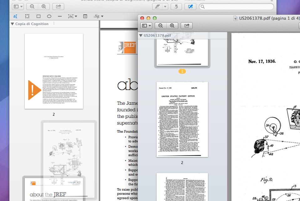 Trascinare PDF