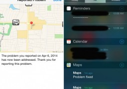 apple mappe notifiche