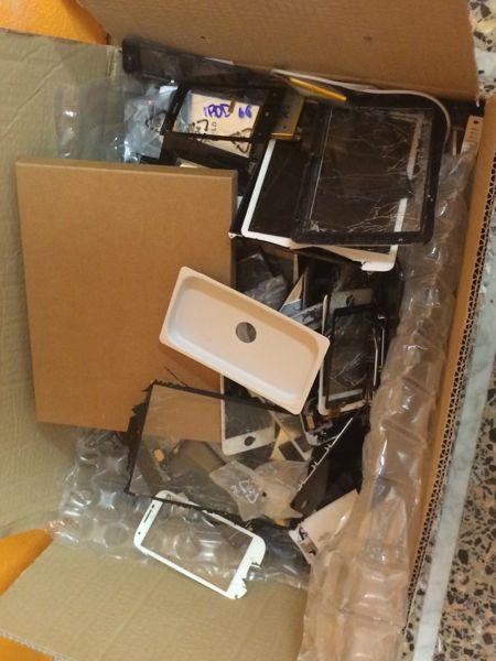 schermi iphone morti