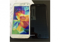 mockup iphone 6 galaxy s5