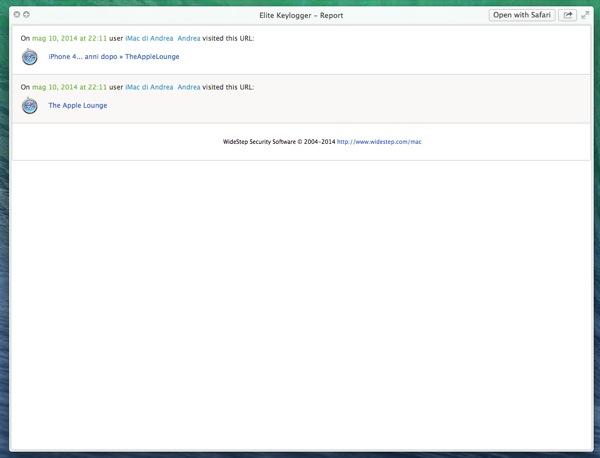 Elite Keylogger Pro recensione TAL Mac_8