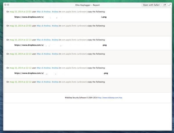 Elite Keylogger Pro recensione TAL Mac_9