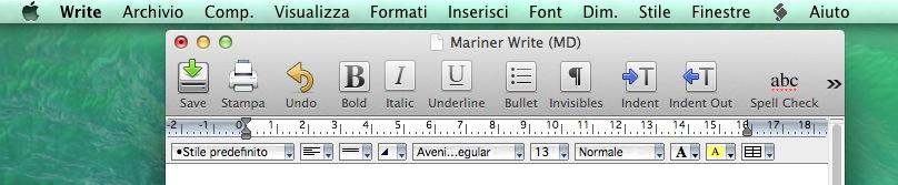 Mariner Write recensione TAL_semitradotto