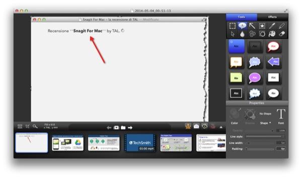 Snagit For Mac recensione TAL_4