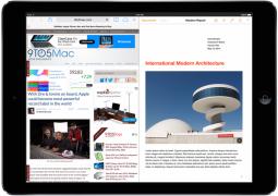 multitasking split screen ios 8 ipad