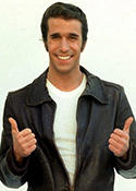 Mandatory Credit: Photo by GLOBE PHOTOS / Rex Features ( 58930a )  HENRY WINKLER  VARIOUS - 1976