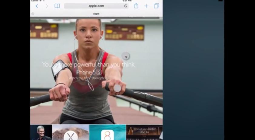 ios multitasking split-screen