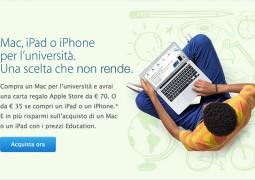 Apple toglie dallo store del settore Education le indicazioni sul tasso 0 - TheAppleLounge