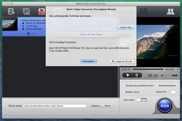 MacX Video Converter Pro recensione TAL_2