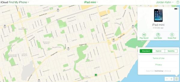 Mappe Apple iCloud